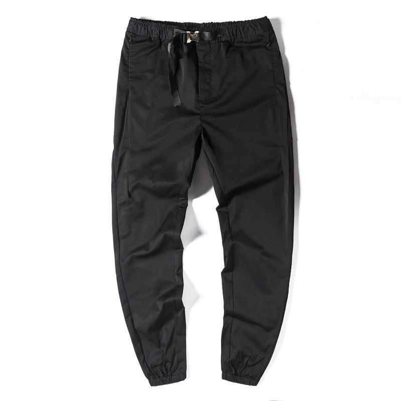 Taille, multi elastische Tasche, Sommer und Herbst dünne atmungsaktive Teenager vielseitige Hose nehmen in Casual Hosen koreanische Version Trendgummiband