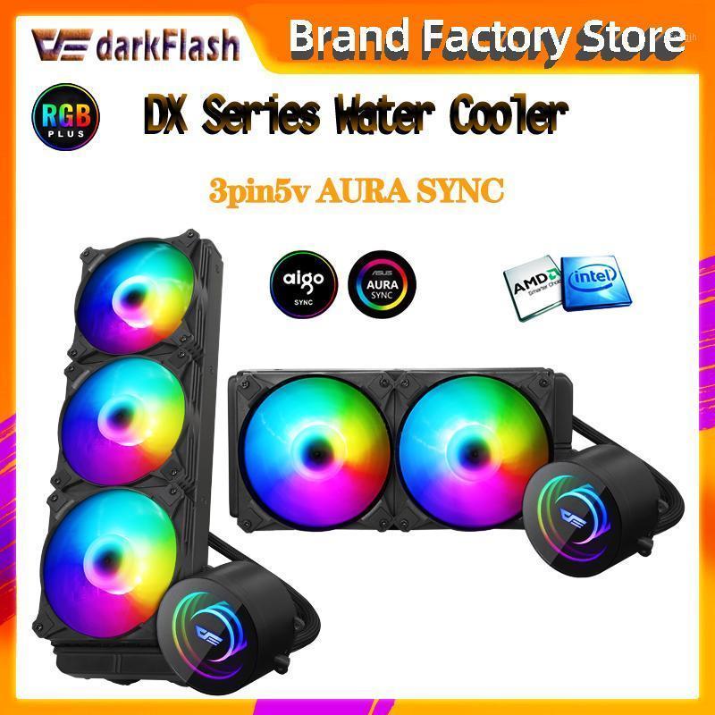 Aigo PC Case Water Cooling Computer CPU Cooler ARGB sync Water Cooler Heatsink CPU Cooling Radiator LGA 2066/1151/2011/AM3+/AM41