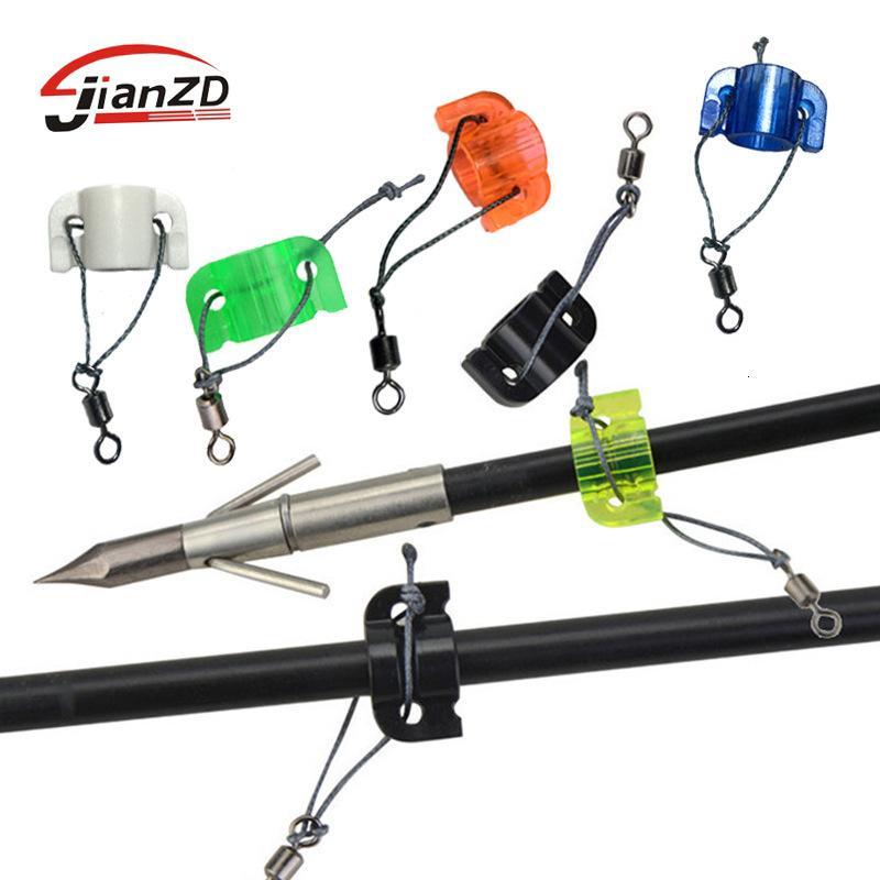 Adatto per polo spesso 8mm. La freccia di tiro del pesce è utilizzata per legare il punto di infilazione scorrevole