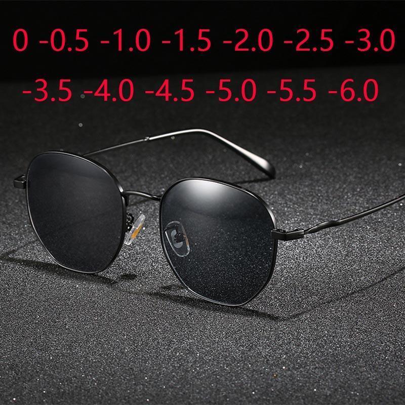 Polyony Myopia Prescrizione Occhiali da sole SPH da 0 a -6.0 Uomo Donna Neightighted Glasses Occhiali Ottica Spettacoli A breve