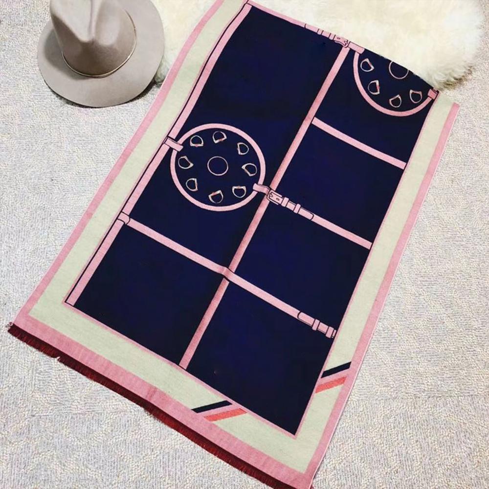Autunno inverno moda sciarpa donna calda signora cavallo sciarpe scialle è la buona collocazione della camera dell'aria condizionata 7ckl