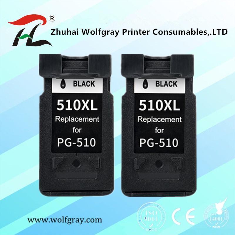 Cartucce d'inchiostro Compatibile PG510 CL511 Cartuccia per Canon PG 510 510XL MP280 MP480 MP490 MP240 MP250 MP260 MP270 IP2700 Stampante