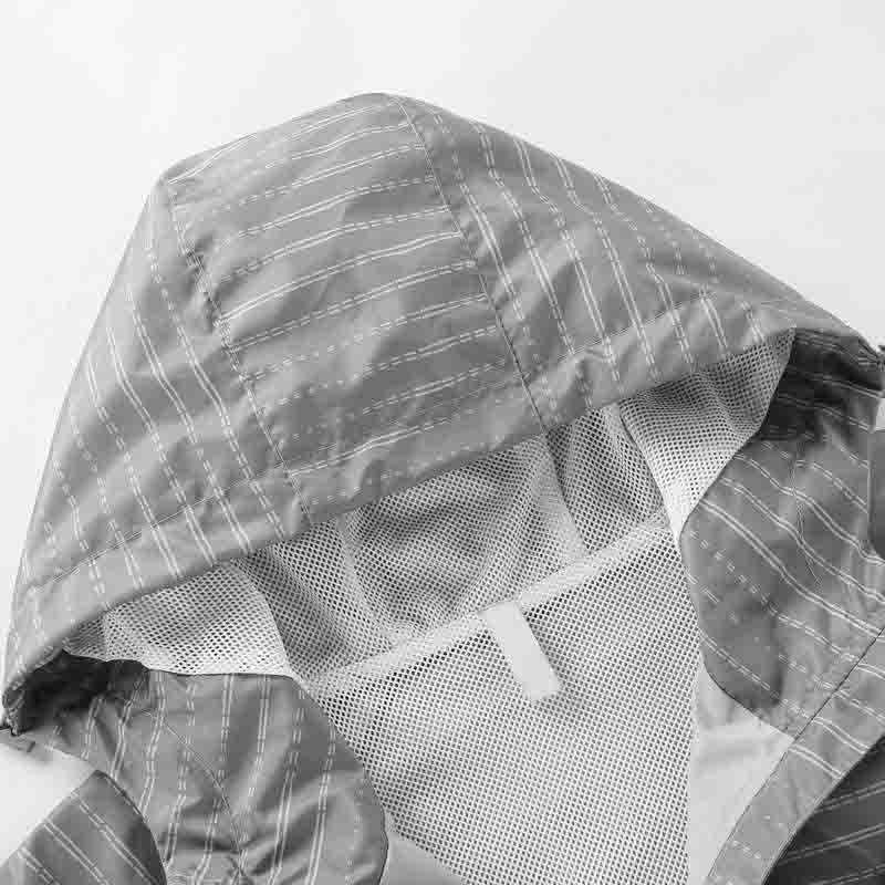 Chaqueta de los hombres 2021 NUEVO Hombres Chaquetas con paneles Moda para hombre Casual Chaquetas deportivas de alta calidad con cremallera con capucha de alta calidad Cortavientos 2 colores Tamaño L-4XL