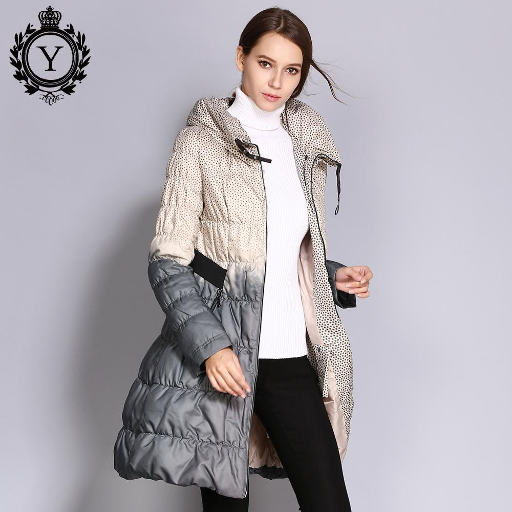 COUTUDI 2019 Winter Daunenmantel Frauen Parka Weibliche Lange Ente Daunen Gepolsterte Jacke Daunen Parka Hit Farbe Hohe Qualität Damenbekleidung C1204