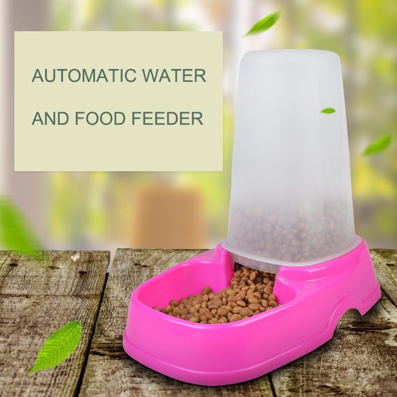 Pet Smart Feeder Quantitative Feeding per cani e gatti forniture per animali domestici ciotola per cani all'ingrosso Amazon Hot