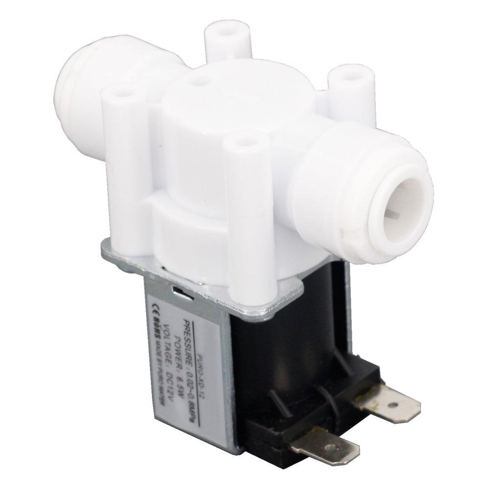 DC 12V válvula solenóide elétrica magnética normalmente fechada válvula solenóide de pressão válvula de entrada de água de águas