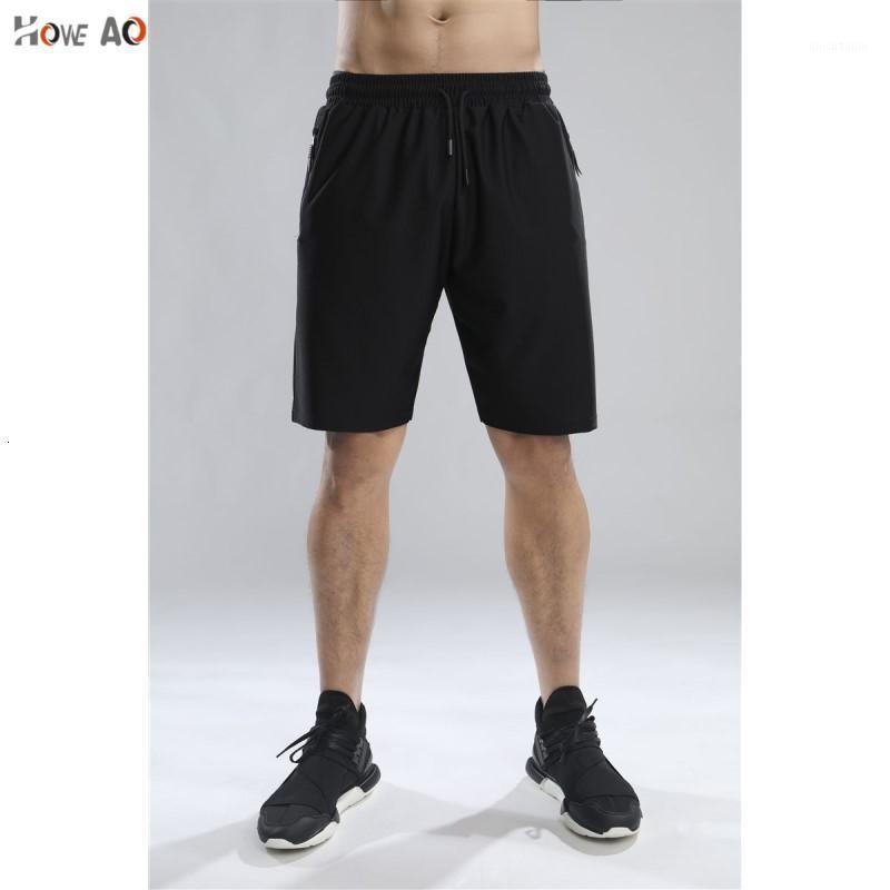 Howe Ao Männer Laufen Shorts Sport Herrengymnastik Shorts mit Tasche Schnell Trockene Fitness Kompression Sport Jogging Kurze Hose Leggings1