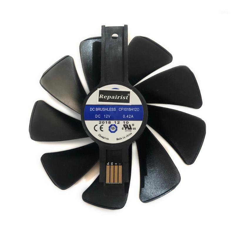 FANS COOLINGS FD10015M12D CF1015H12D RX 580/480/470/570 GPU Refrigerador Ventilador para Sapphire RX580 RX480 RX470 RX570 Nitro VGA Cards Refrigeração1