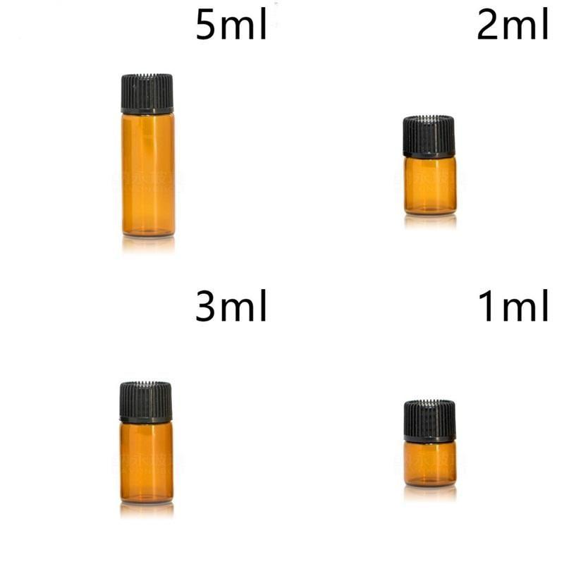 Separate Abfüllung braun Flasche feste Farbe Kleiner Kapazität versuchen