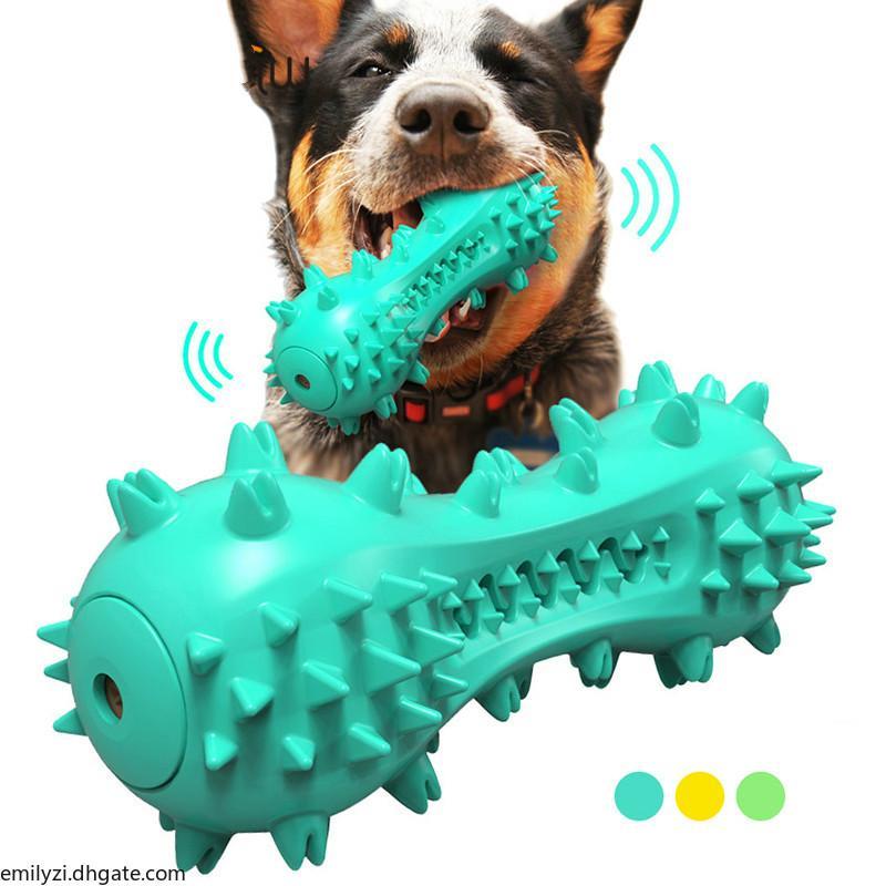 BenEPAW Durável Dentes Limpeza Do Cão Brinquedos Para Cheeres Agressivos Borracha De Borracha Chew Toys Brinquedos Filhote de cachorro Jogo Jogo Alivie a ansiedade