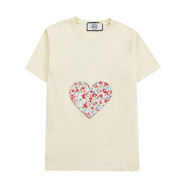Yaz Erkek Kadın T Gömlek Yeni Moda Tişörtleri Ile Nefes Kısa Kollu Erkek Tops Çiçekler Tee Gömlek Toptan