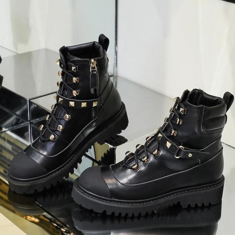 2020 winter new limited edition rivet boots, comfortable, warm, cool and versatile premium quality short boots free shipping