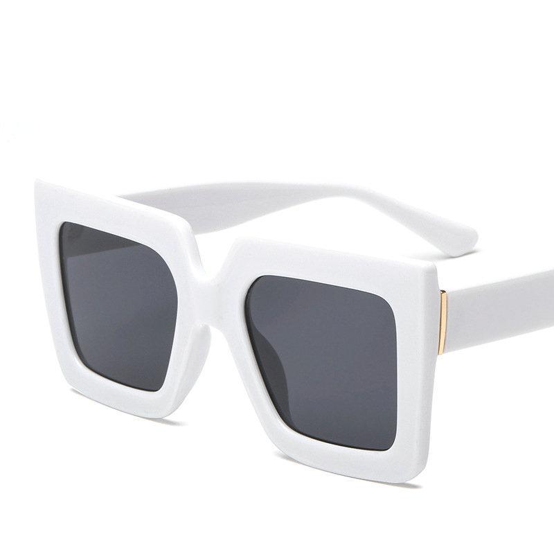 Übergroße Quadratische Sonnenbrille Frauen Luxus Italien Marke Designer Red G Reen Sonnenbrille für weibliche Männliche Vintage Eyewear FML