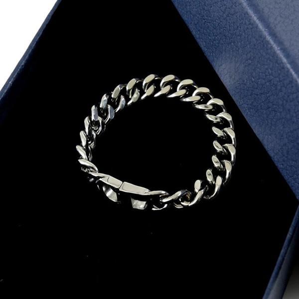 CD ALPHABET COUVERTURE BRACELET CONTEUR Personnalité Bracelet pour hommes et femmes bijoux