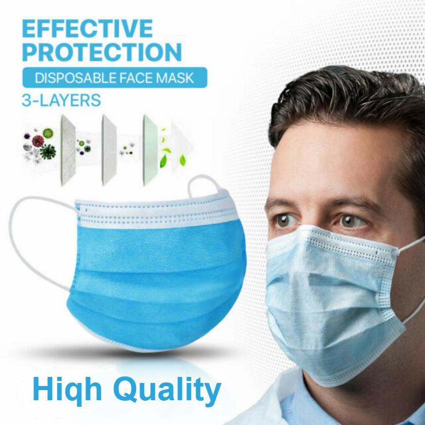 Maskeler Tek katlı Yüz gemi !! Anti kirliliği koruyucu Bakımı Elastik Nefes 3 PM2.5 mavi DHL Ücretsiz ler maske