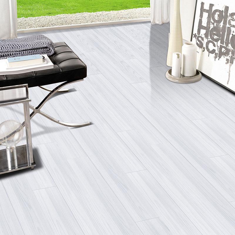 Adesivos de parede Superfured superfície simulado madeira grão 3d adesivo telha etiqueta 20 * 500 cm 1 rolo banheiro à prova d'água