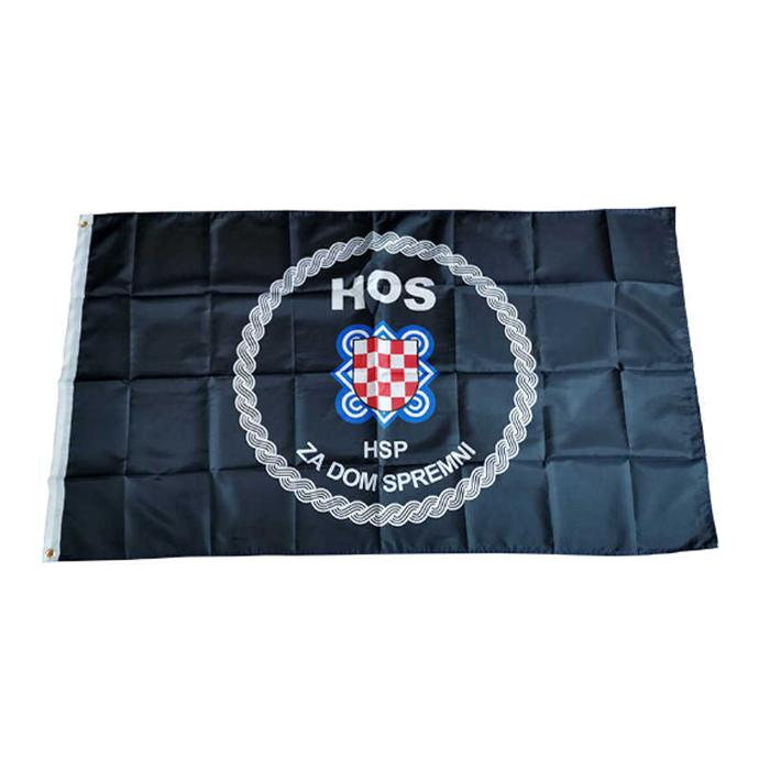 Хорватские силы обороны флаги баннеры 3x5FT 100D полиэстер горячий дизайн 150x90см быстрая доставка яркий цвет с двумя латунными втулками
