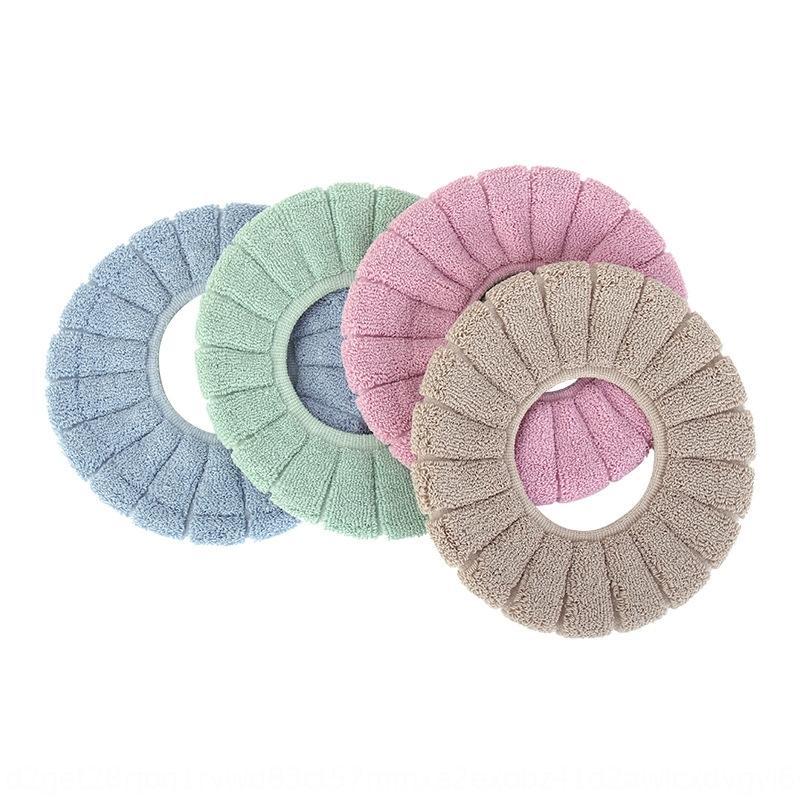 B8JRY Stripe Bilancia calda calda cuscino zucca zucca copertura copertura a maglia wc sedile copertura igienica ODAEB