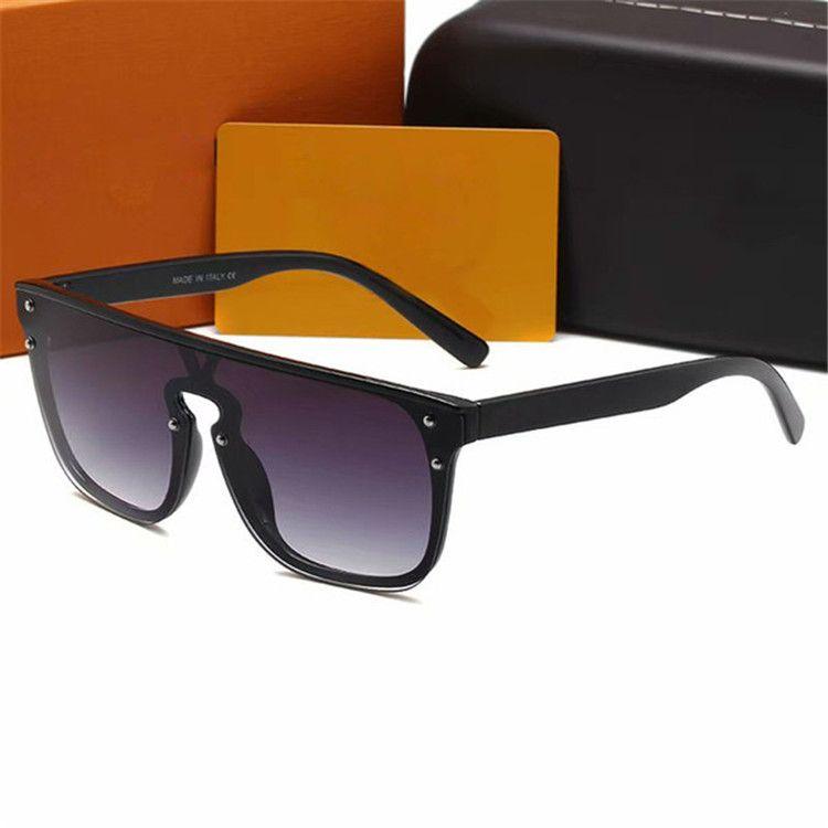 2021 Hohe Qualitätsmarke1082 Sonnenbrille Mens Mode Beweise Sonnenbrille Designer Eyewear für Herren Womens Sonnenbrille Neue Gläser