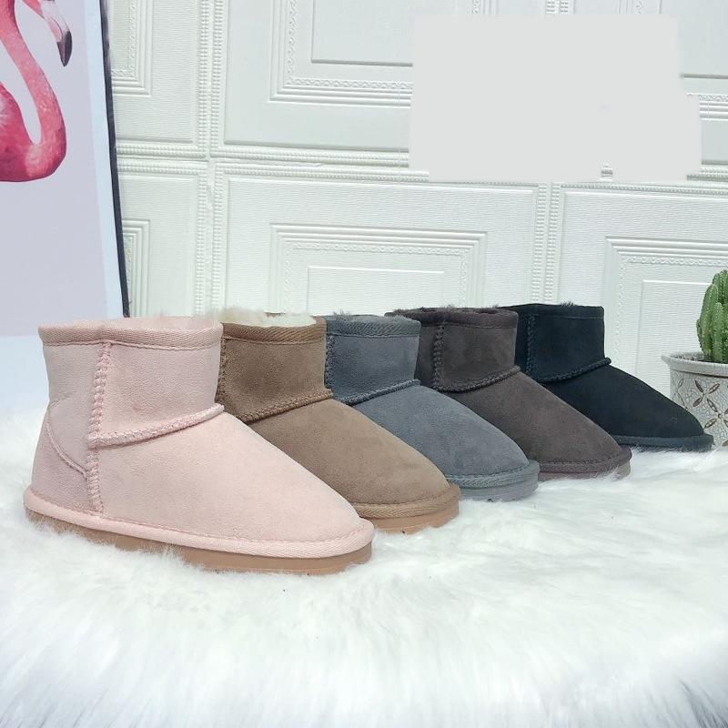 U3XP Loveewalk Kinderstiefel Winter Neue Prinzessin Boots Schuhe Mädchen Große Mode Rhinestones Mädchen Samt Für Kinder Reißverschluss Herbst