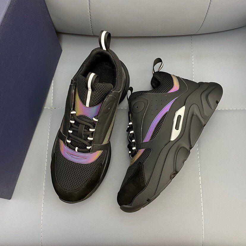 HOMME SNEAKERS B Runner D Casual Shoes Designer Lace Up Oversize Sneaker Trainers Man Luxurys Women Shoe