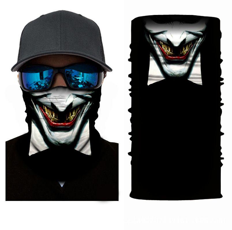 10PCSXUNHUI Изменчатая открытая езда головной убор клоун Magic Sports Headdress полиэстер Быстрая сушка анимация