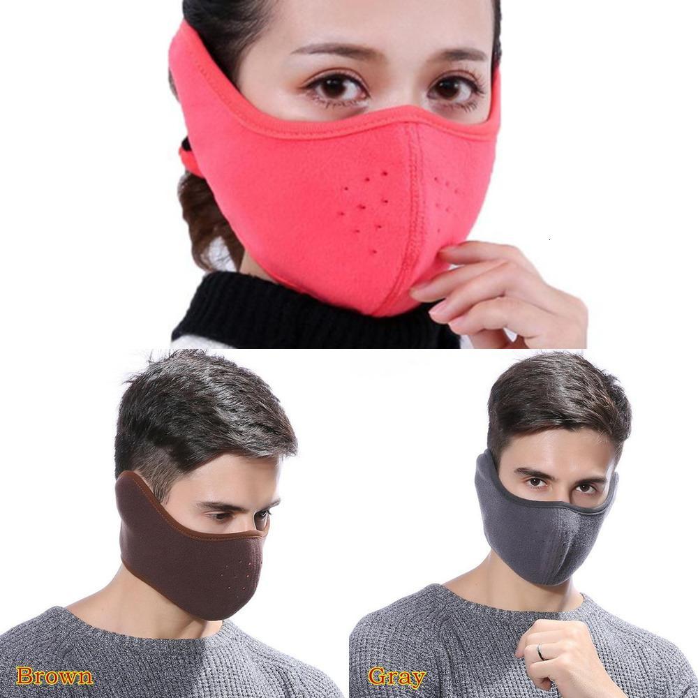 Cotton Mouth Adisputent Masks 2 Muffle in Earmuffs 1 Unisex Winter Fashion Men Women Outdoor Warm Windproof Halft