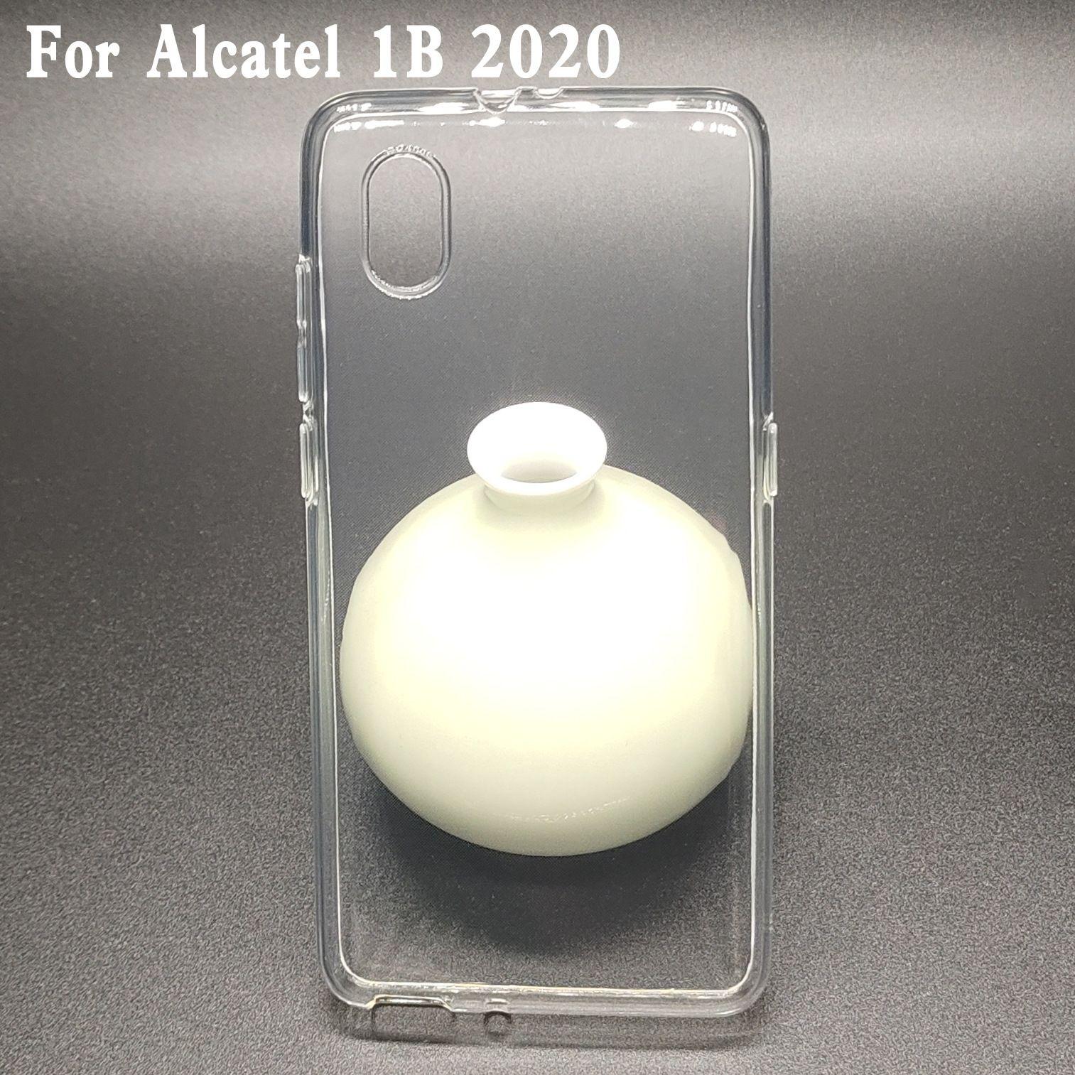 Spigen Ultra 하이브리드 유연한 슬림 얇은 Shockproof 보호 소프트 TPU Alcatel 1B 2020 용 투명 케이스