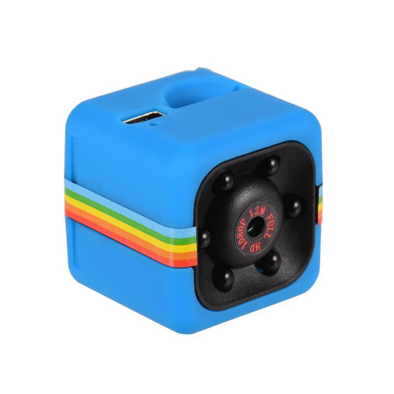 Mini caméra Wifi Camera Cube HD 1080P IR vision nocturne Photographie 120 degrés grand angle 32GB mini-mémoire étendue