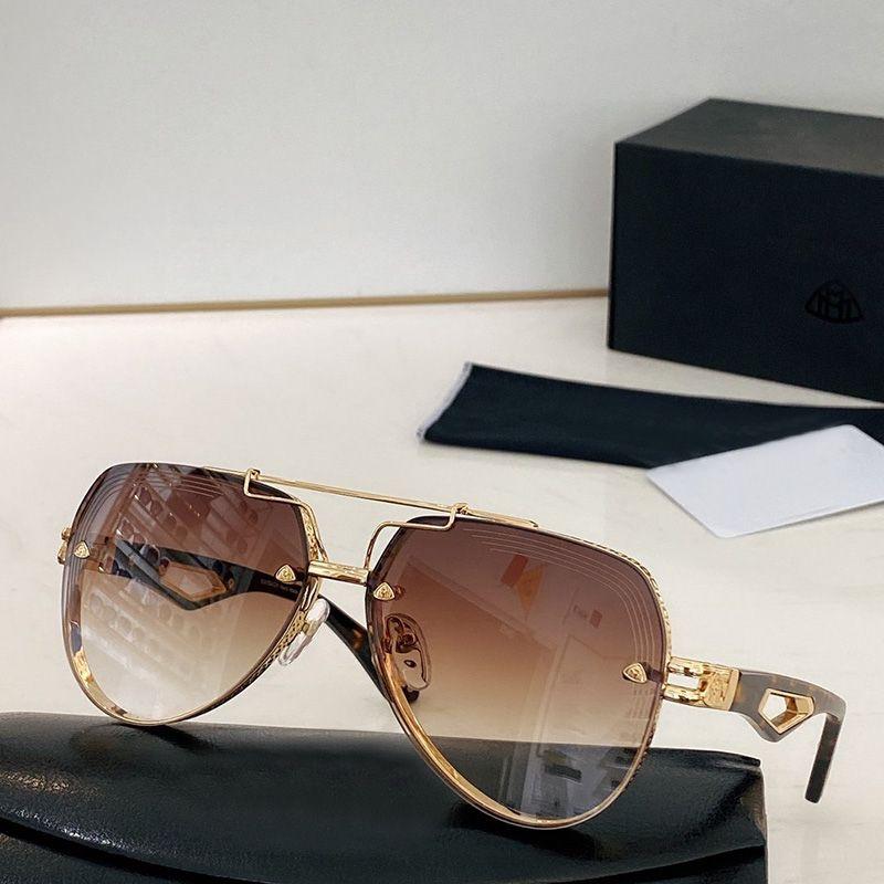 Boutique UV Top Gafas de sol Gafas de sol Marco Frame De Moda Protección de gama alta Full Mixed Men's Men's Hombres con Caja NDHFS