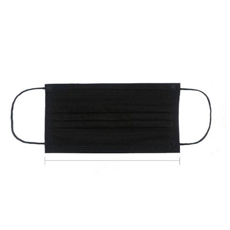 Черные маски модные модные оптом одноразовые новые 3-слойные защитные маски для лица в наличии Fastfacx0z3safeeoyc