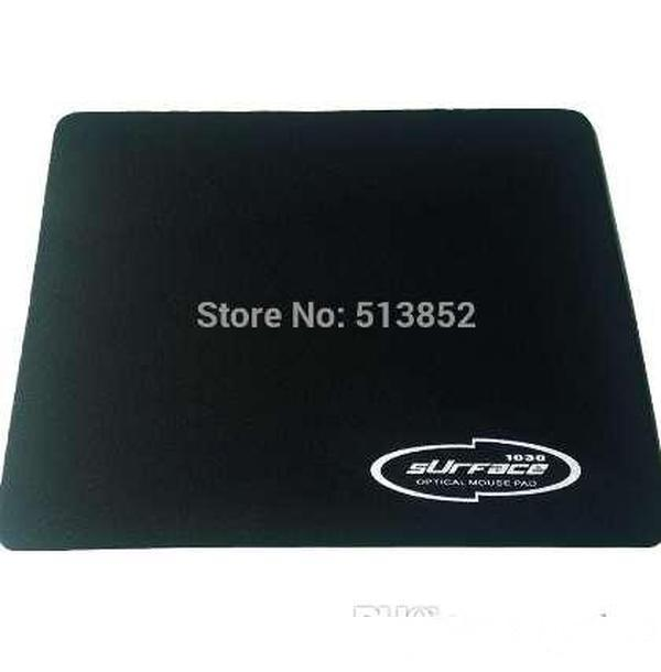 Mouse Pad PC Notebook Descktop Computador Clássico 2.5mm Espessura Natural Borracha Pano Home Office Game 18 * 22cm Cor preta
