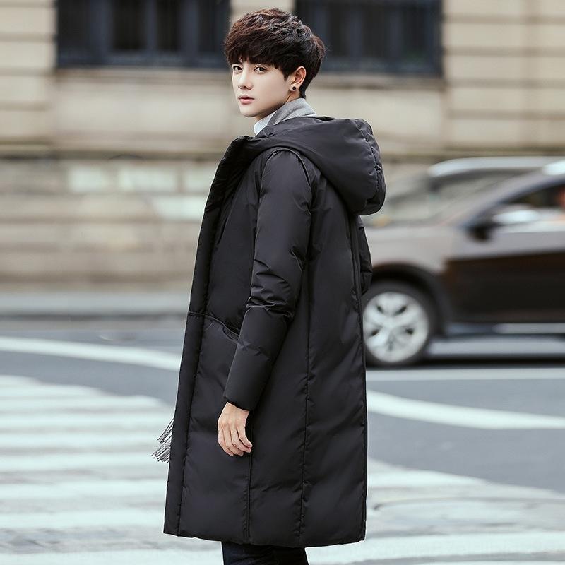 Afya Giyim Yeni 2020 Ceket Moda ve Sonbahar Sıcak Genç Kapüşonlu Ceket Aşağı Kış Ceket