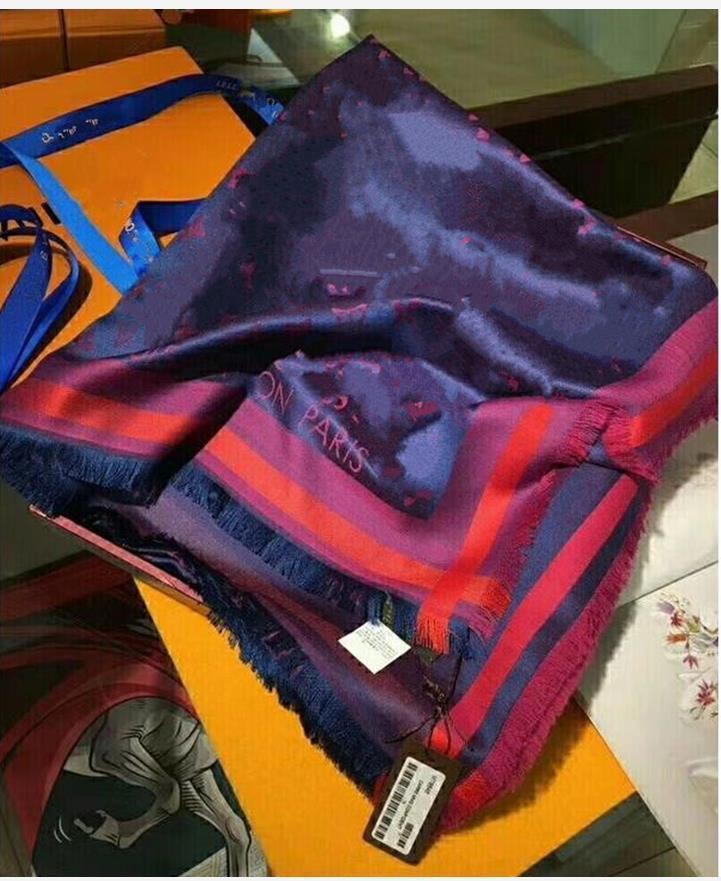 Nouveaux designs Foulard en soie en laine pour femmes Vente chaude Mesdames Hiver Châles Scharfs Pashmina Fashion Bague longue 140x140cm Dropship