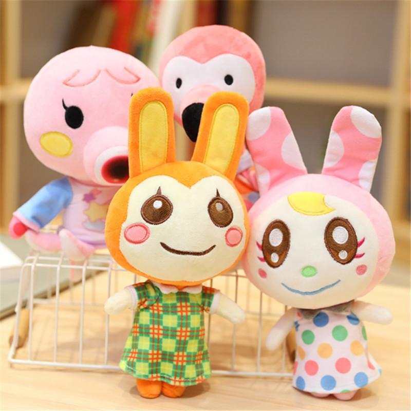 25 cm Tierübergang Plüsch Spielzeug verschenken AMIIbo Card Cartoon Raymond Jingjiang Puppe KK Spielzeug Plüschkissen Kindergeschenke Y1216