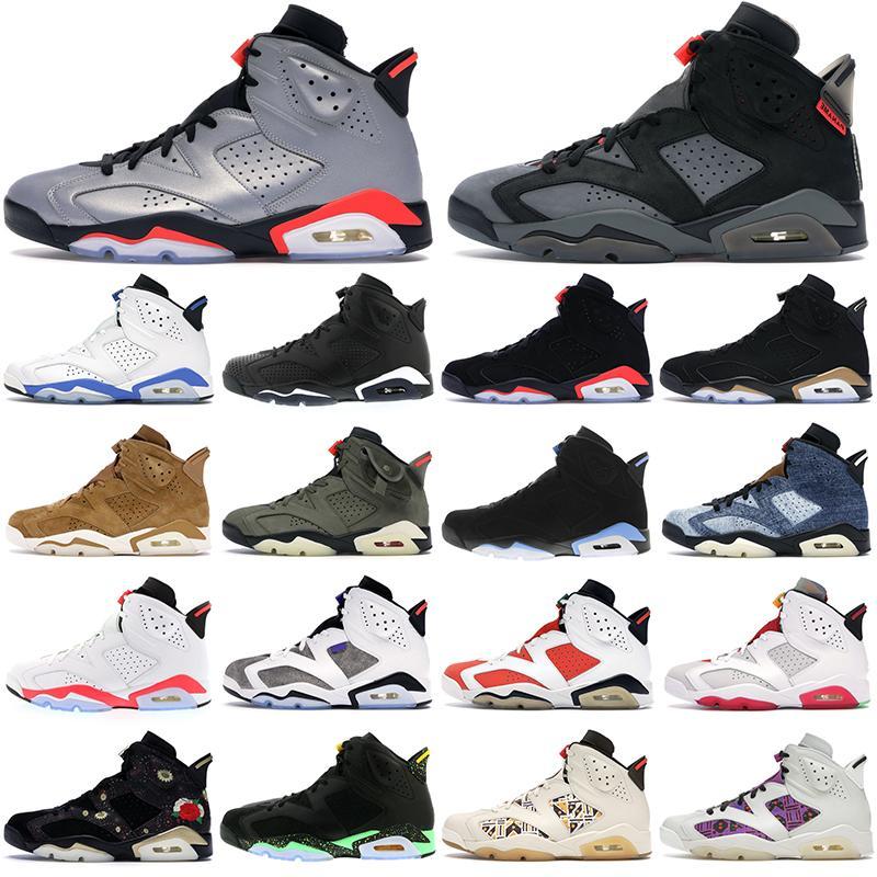 Jumpman 6s 6 chaussures de sport pour hommes noir nouvel an chinois sport bleu luxurys mode hommes femmes formateur sport de plein air sneaker