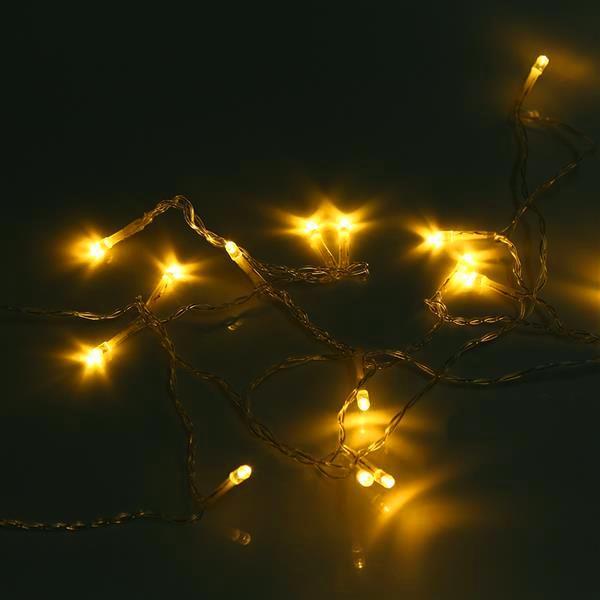 Consegna gratuita 600Led Window Tenda String Stringa Fata Luce di nozze Nuziale Decorazioni per feste di Natale (Warm White) Top-Grade Materline Strings Lighting