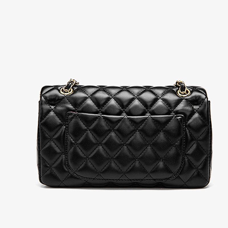 Designer- Mulheres Flap Crossbody Bolsa Escritório Diário Moda Chain Designer Elegante Retro Shoulder Bag