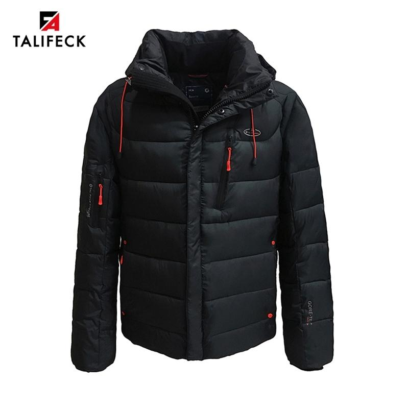 Novos homens jaqueta de inverno casual algodão aquecido inverno casaco homens grossos jaqueta acolchoada parka homme outwear preto jaquetas de inverno mens 201223