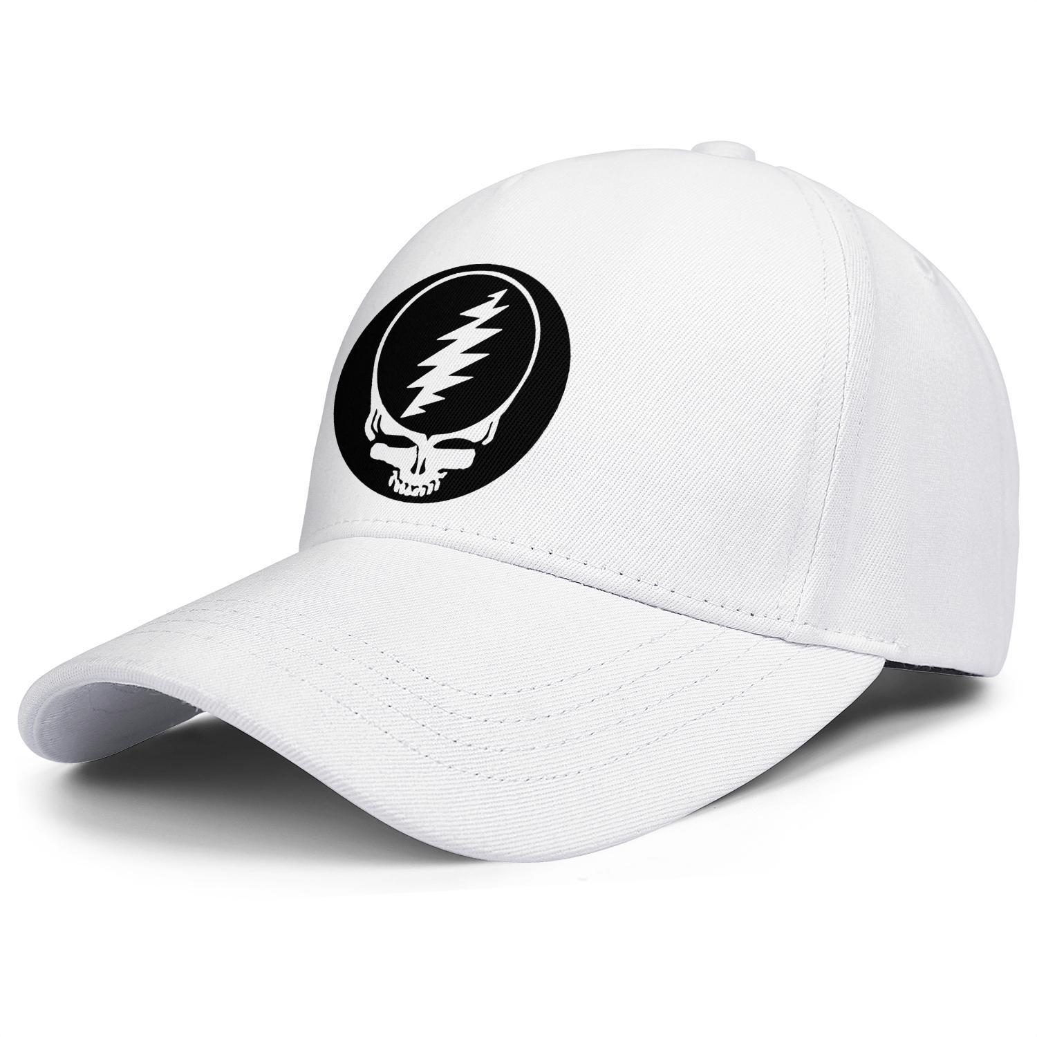 Fashion Baseball Cap grateful dead skull logo black Adjustable Ball Hat Cool Personalized Trucker Cricket white rainbow Grateful 71