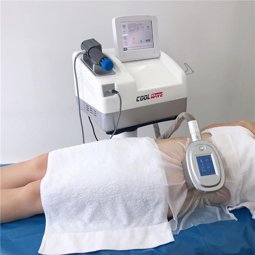 셀 룰 라이트 감소 체중 감량을위한 충격파 치료를위한 멋진 Cryolipolysis 몸 슬리밍 기계를 뜨거운 판매