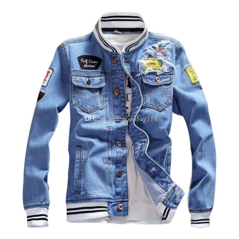 Giacca da uomo Designer da uomo di lusso Donne Donne di alta qualità Stampa Giacca Denim Mens Designer Cappotto Donne Top Black Blue Jean Giacche taglia S-5XL
