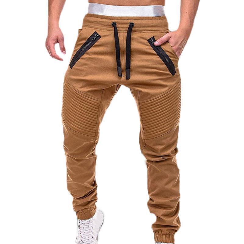 Hombres Joggers Pantalones Otoño Nuevos para hombre Sweetpants Ocio Algodón Hombres Joggers Casual Sweetpants Hombre Entrenamiento Slim Fit Pantalones