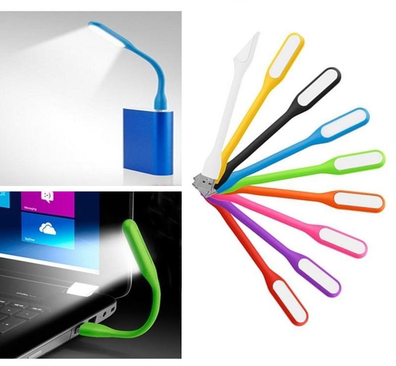 USB conduziu a lâmpada de mesa de poupança de energia flexível lâmpada de leitura lâmpada de leitura para bateria portátil e carregador LED luzes LED tira
