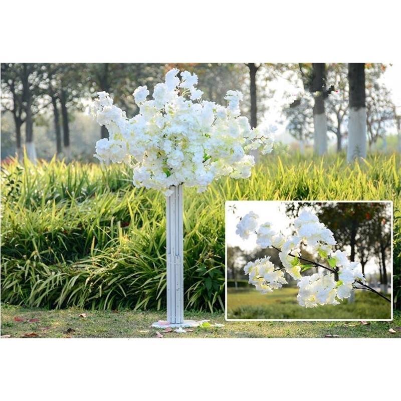 Cada viernes negro 1 m de largo cuatro ramas ramas simulación cerezo flor de boda arco decorativo flor decoración de la sala de estar