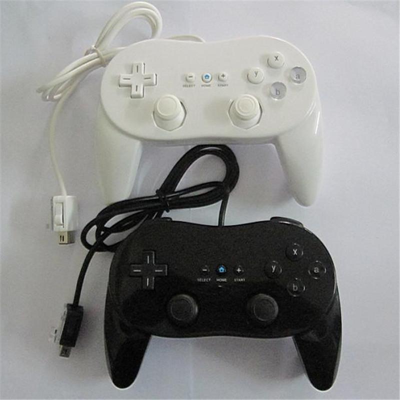 Nintendo Wii İkinci Nesil Klasik Pro Kablolu Denetleyici Gamepad Gaming Pro Uzaktan Oyun Denetleyicisi Joypad Joystick