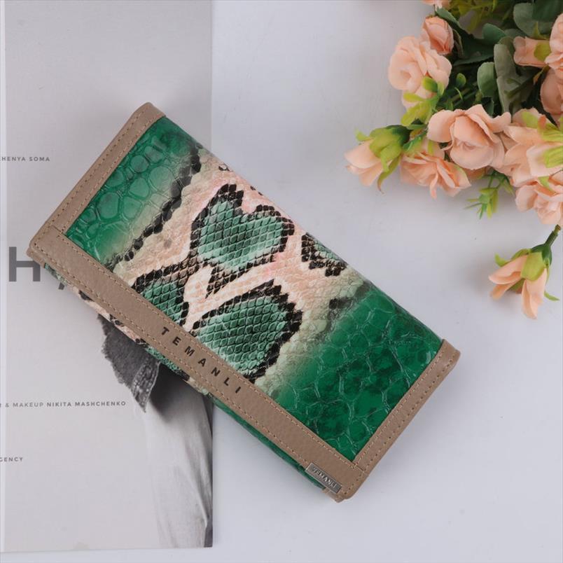 ПУ отдых рука змеи женские модный браслет горячий кошелек мода продажа шаблон с кошелек на браслет длинные карты JXHTQ