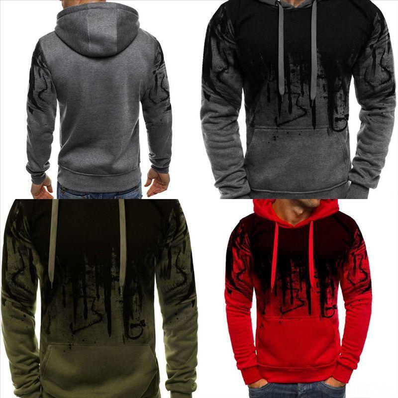 wM2fC sweater Pullover 3D printing Men luxury man dener Sweater Male Brand Comfortable Mulit-Color creative Fashion Simple Sweaters Splash i