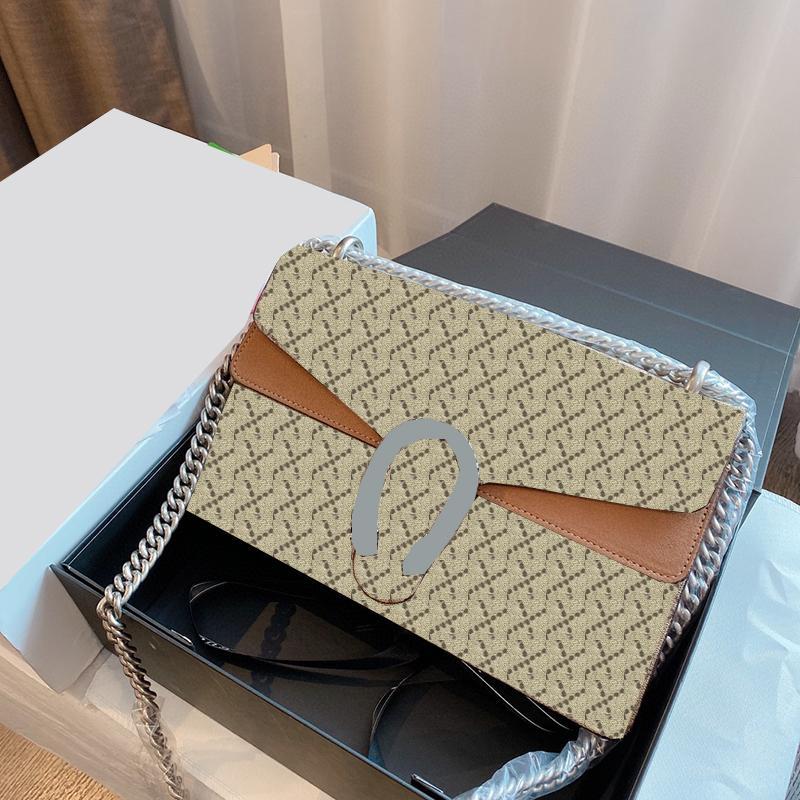 Borsa a tracolla a tracolla a tracolla a tracolla a tracolla a tracolla di lusso con borse a tracolla di lusso in vera borsa con scatola con scatola di alta qualità Ghome