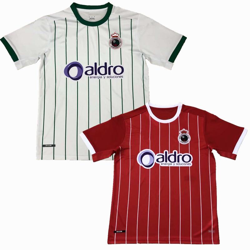 2020 2021 Racing de Santander Futebol Jerseys 20 21 Home Away Camisa de Futebol S-2XL